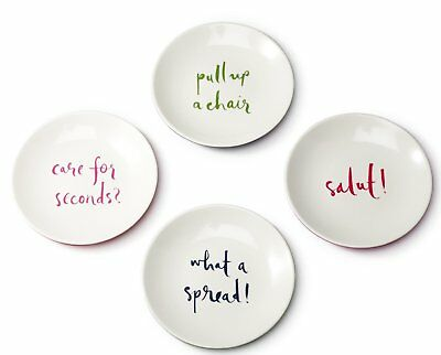 NEW Kate Spade Tidbit Plates (Set of 4)