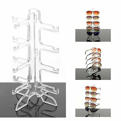 Sunglasses Eye Glasses Display Rack Stand Holder Organizer 4/6 Layers NEW YH