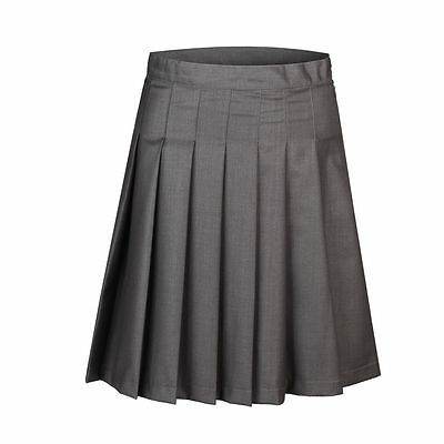 Harry Potter Hermione Granger Short Pleated Wool Skirt Dress Gryffindor Costume