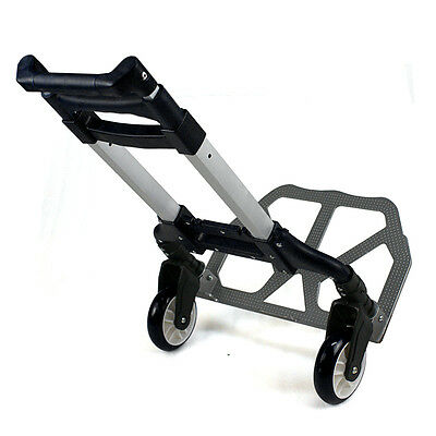 Luggage Compact Folding Cart 80 Kg/176 lbs Heavy Duty 2-Wheel Solid Construction