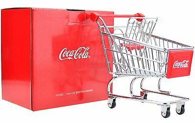 Rare Coca Cola China 2016 Limited Edition Mini Supermarket Shopping Cart