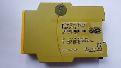 Pilz 774303 Pnoz X2 2S 24V Safety Relay (  (In18S1B4))