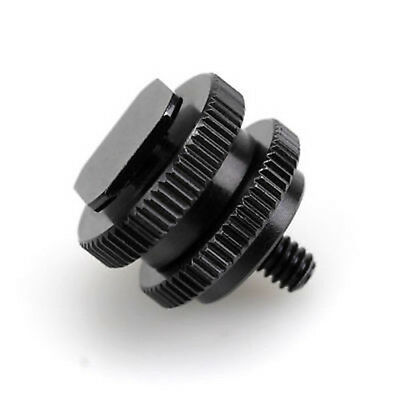 "NEW PRO 1/4""-20 Tripod screw to Flash Hot Shoe Adapter for SLR Camera"