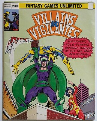 Fantasy Games Unlimited - Villains and Vigilantes - Revised edition - 1982