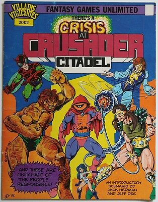 Fantasy Games Unlimited - There's a Crisis at Crusader Citadel - 1982