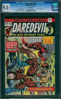 Daredevil # 120  And a Hydra New Year, Hornhead  !  CGC 9.6  scarce book !