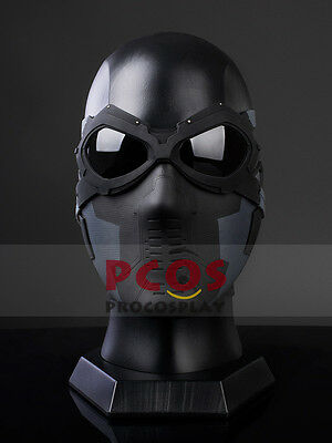 Cool Set~ Captain America:The Winter Soldier Bucky Barnes Cosplay Mask & Goggles