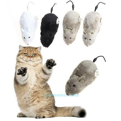 Cat Dog Pet Wireless Mechanism Rat Mouse Winding Trick Playing Funny Toy
