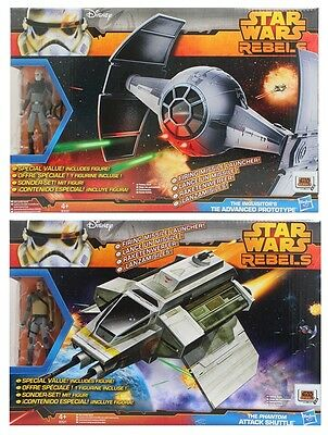 HASBRO Star Wars Rebels Figure and Vehicle 2 fach sortiert