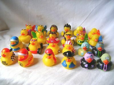 New 24 Fun Novelty Floating Bath Ducks Racing Pirate Rock Outfits Cute! Pms Rpr