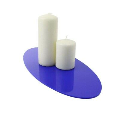Small Oval Table Centre, Runner, 73 Colours, Kitchen, Dining, Worktop, Acrylic
