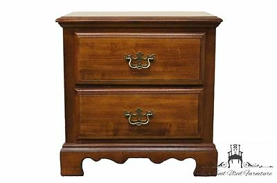 AMERICAN DREW Traditional Two Drawer Chest Nightstand 49-402