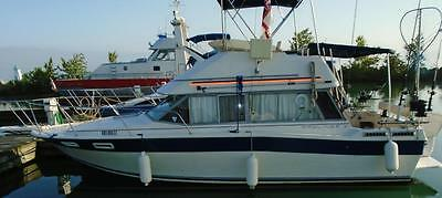 30' Bayliner Flybridge Live Aboard Fishing Boat Great Condition Fully Equipted