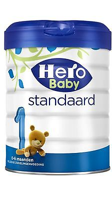 4 X Hero Baby  1 Standaard 0-6 months.100 % Original Dutch Baby Powder.
