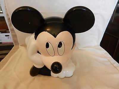 Ceramic Mickey Mouse Cookie Jar from Treasure Craft for Disney