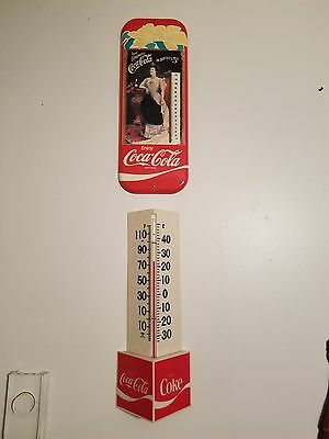 2coca cola  wave thermometers