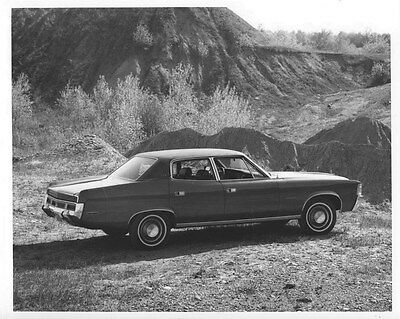 1972 AMC Ambassador SST 4-Door Sedan ORIGINAL Factory Photo oub5497