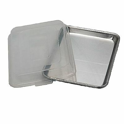 Artisan Metal Works 1/4 Size Aluminum Sheet Pan with Cover  *** NEW ***