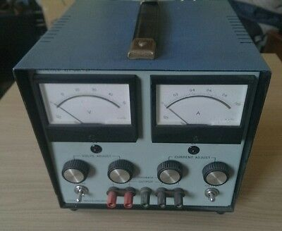 Farnell C1 linear bench test  variable  power supply 0-50V 0-1A
