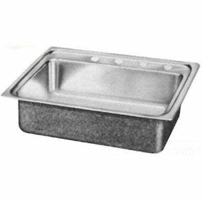 Elkay LRAD1716401 17 x 16 Inch Gourmet Sink with Quick-Clip