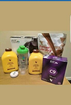 Brand New Forever Living Clean 9 C9 Detox Cleansing Chocolate or Vanilla