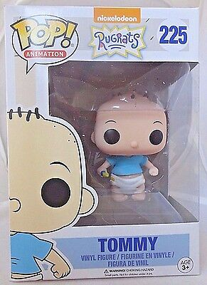TOMMY 225 Funko POP! Nickelodeon The Rugrats vinyl Pop figure New In Package