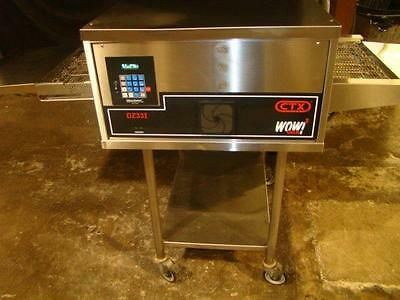 MIDDLEBY MARSHALL CTX DZ33i WOW! CONVEYOR PIZZA OVEN. ...VIDEO DEMO...SPLIT BELT