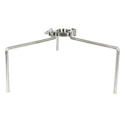"""HFS 3"""" Tri Clamp Clover Stand - Stainless Steel 304"""