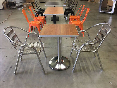 Restaurant Table Chairs tables chair Set stainless steel Chair