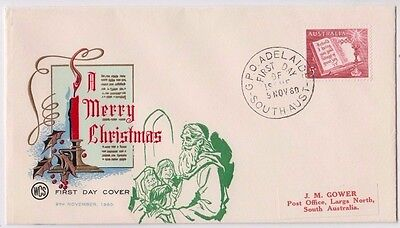 SCARCE Wesley WCS FDC overprinted by Overseas Mailer in USA 1960 Christmas