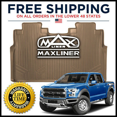 Maxliner 2015 2017 Ford F 150 Crew Cab Rear All Weather Floor Mat