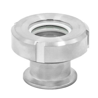 "HFS 1.5"" Sanitary Flow Sight - Tri Clamp Clover Stainless Steel"