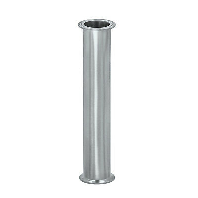 "HFS(R) 1.5"" Flow Sanitary High Grade Stainless Steel 304 Pipe; Length 12"" 304"