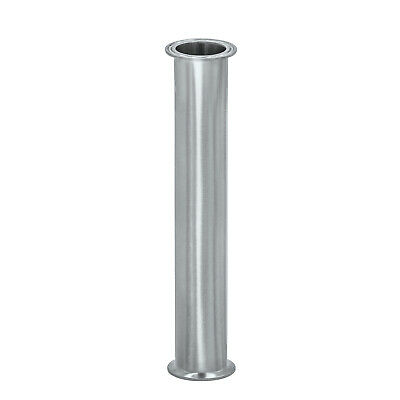 """HFS(R) 1.5"""" X 18"""" Sanitary Spool - Tri Clamp Clover Stainless Steel"""
