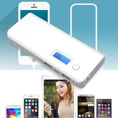 50000mAh Portable Dual USB LCD Display External Power Bank Battery Charger TOP