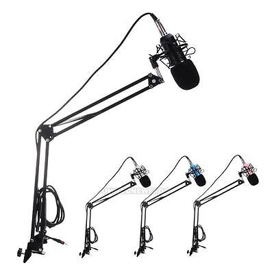 BM-700 Professional Studio Broadcasting Recording Condenser Microphone Set New