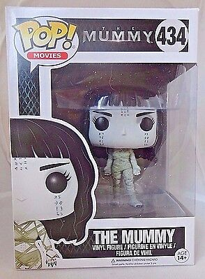THE MUMMY 434 Funko POP The Mummy Universal movie vinyl figure New In Package