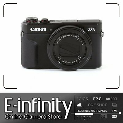 NUEVO Canon PowerShot G7 X Mark II Digital Camera G7X Mark 2