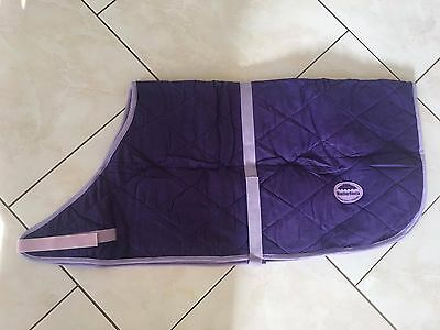 SALE!! Weatherbeeta Dog Coat Rug Quilted Purple with Lilac Trim 70cm