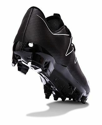 3185f8927053 Under Armour Mens UA Nitro Low MC FOOTBALL Cleats BLACK SIZE 13.5 cleat  shoes