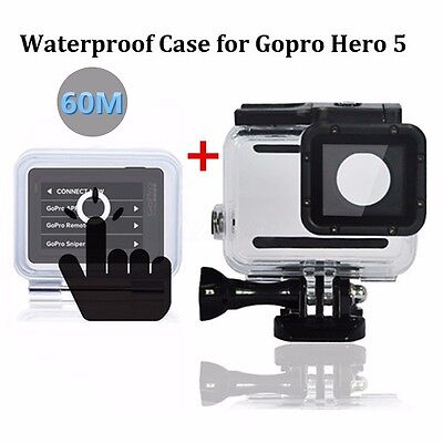 For GoPro Hero 6/5 Black Waterproof Diving Surfing Protective Housing Cover Case