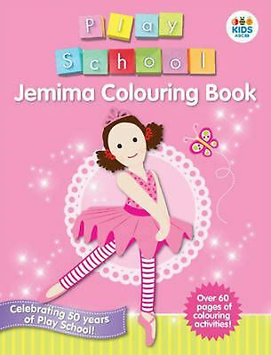 Jemima Colouring Book By Play School Paperback Free Shipping