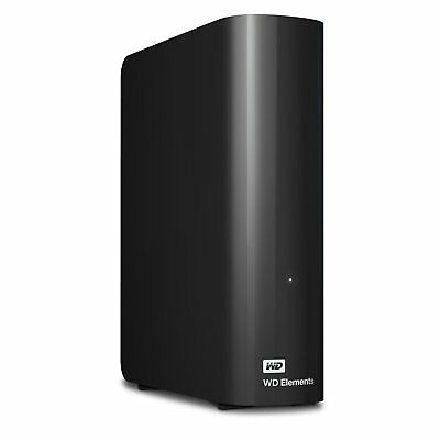 Western Digital Elements Desktop 2 TB USB 3.0 externe Festplatte, HDD Schwarz