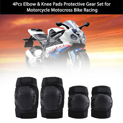 Motorcycle Bike Riding Knee pads Protective Gear Guard Elbow Protector Set AF