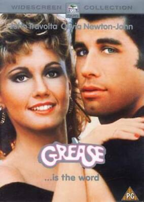 Grease DVD (2002) John Travolta, Kleiser (DIR) cert PG FREE Shipping, Save £s