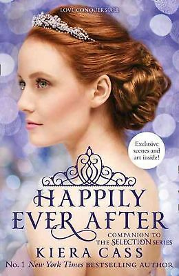Happily Ever After by Kiera Cass Paperback Book Free Shipping!