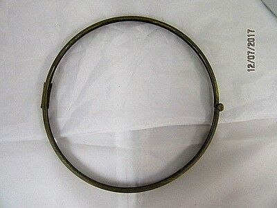 Brass Bezel For CIock ideal for Spares