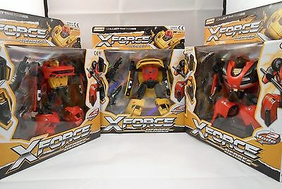 X Force Transformers Robot Car Action Figure - Great Christmas Gift for Kids