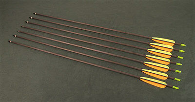 """8 Carbon arrows 30"""" Perfect Line Spine 340 for Bow 60 lbs - 80 lbs Carbon arrow"""