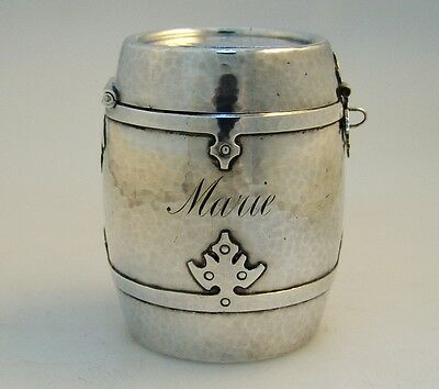 Coin Bank 14th Century Shreve Sterling Silver 1915 Marie